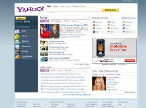 Yahoo's new look